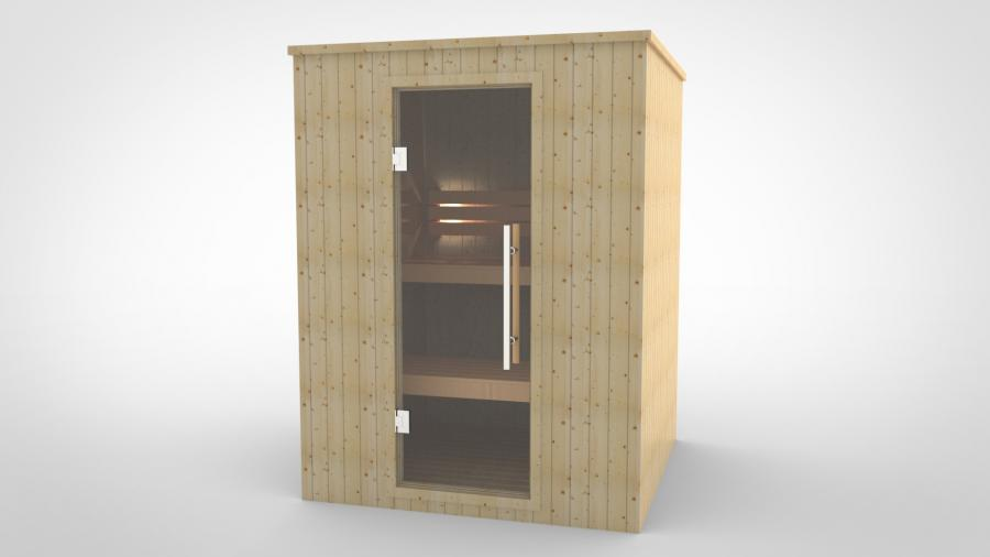 Sauna Steady 125 x 155